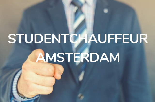 studentchauffeur amsterdam
